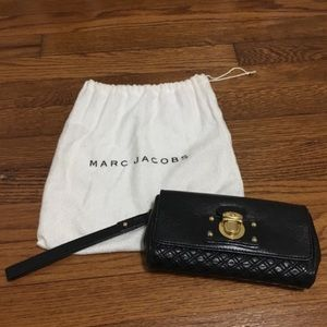 Authentic Marc Jacobs Black Clutch